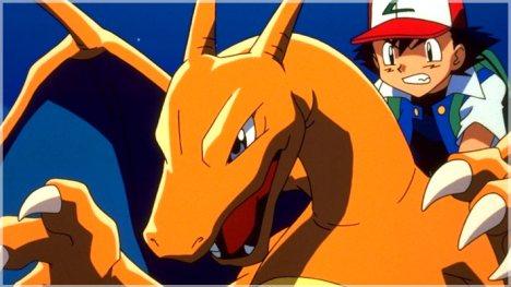 Ash e Charizard Pokemon