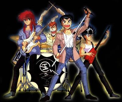 Yu Yu hakusho banda de musica