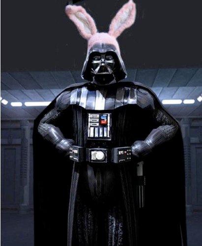 Darth Vader de páscoa!