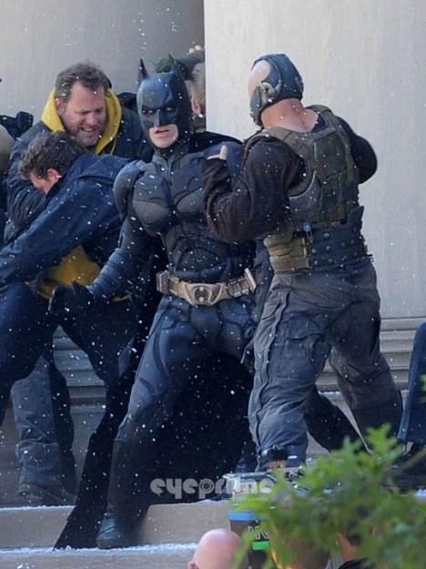 Batman contra Bane dark knight rises