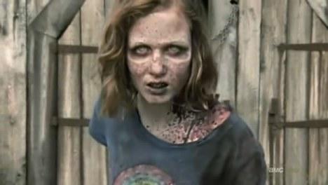 The Walking Dead sophia zumbi