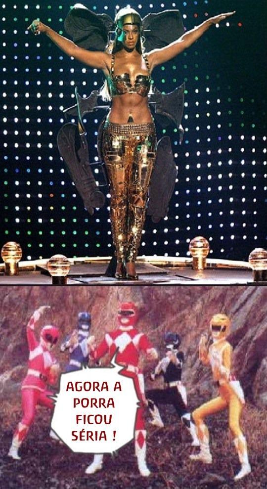 Beyonce versus rangers Rock