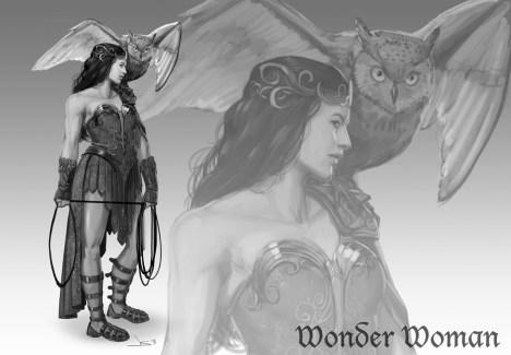 Mulher Maravilha Idade Media Wonder Woman