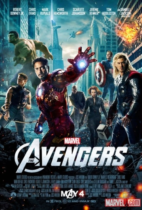 Avengers vingadores poster