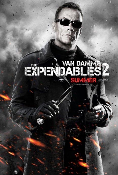 Expendables 2 poster Jean-claude van damme