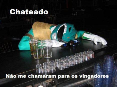 Power Ranger verde bebado