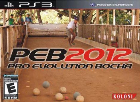 Pro Evolution Brasil Bocha
