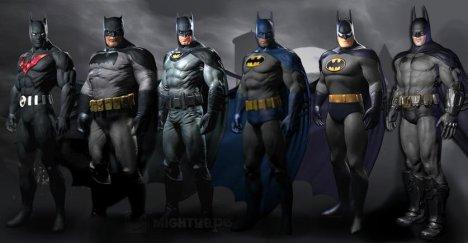 Batman roupas uniformes