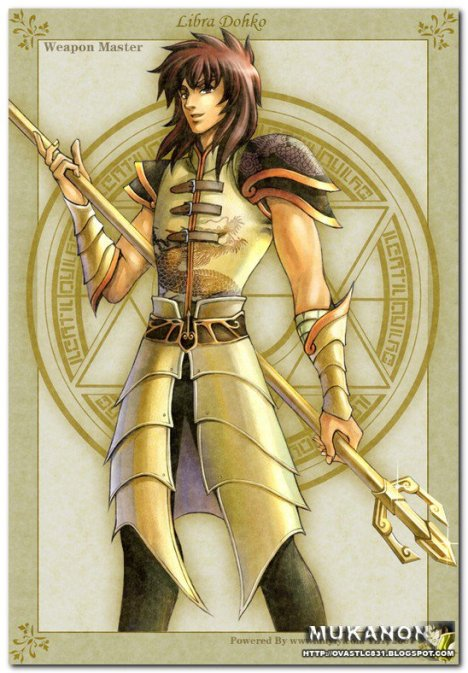 Dohko de libra cavaleiro de ouro