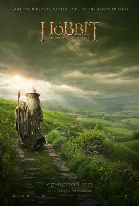 Gandalf hobbit poster