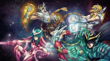 cavaleiros do zodiaco reunidos