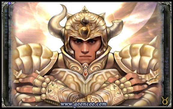 versão Cavaleiros de ouro Santos Aldebaran de Touro