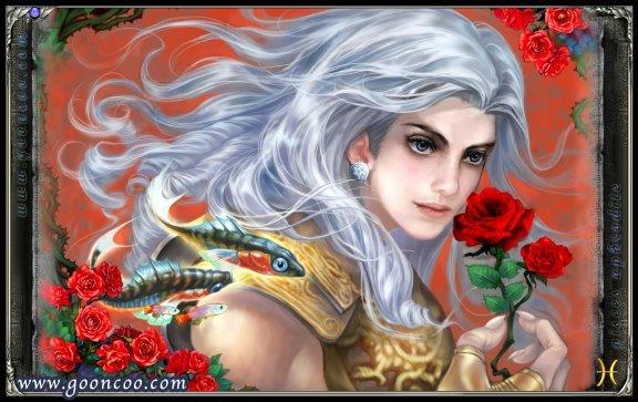 Aphrodite de Peixes versão Cavaleiro de ouro Santo