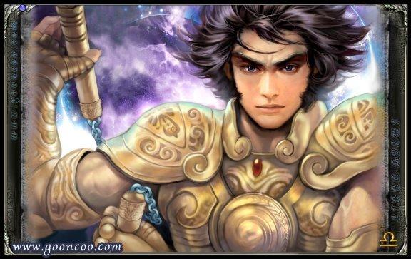 Dohko de Libra versão Cavaleiro de ouro Santo