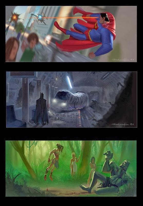 E se a Liga da Justiça fosse da Pixar