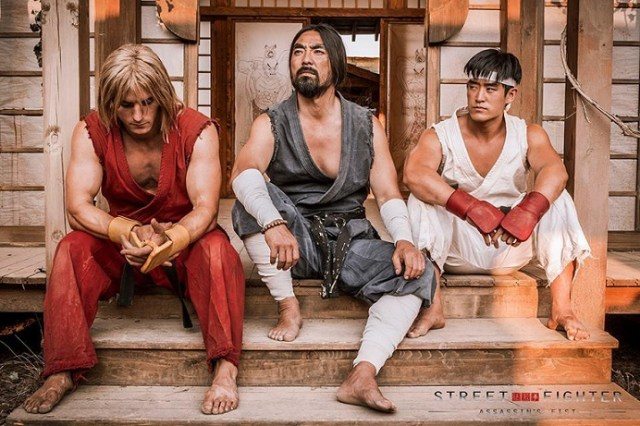 Street Fighter: Assassin's Fist Ken, Gouken e Ryu