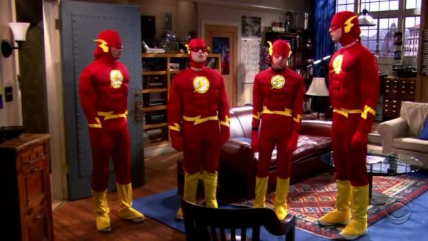 The Big Bang Theory Flash