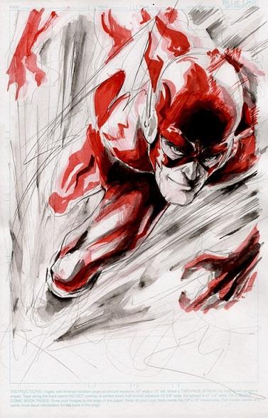 Barry Allen velocidade