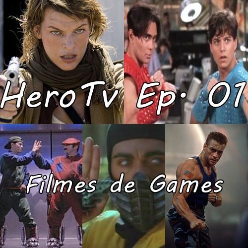 Capa HEROTV 1 - Filmes de Games