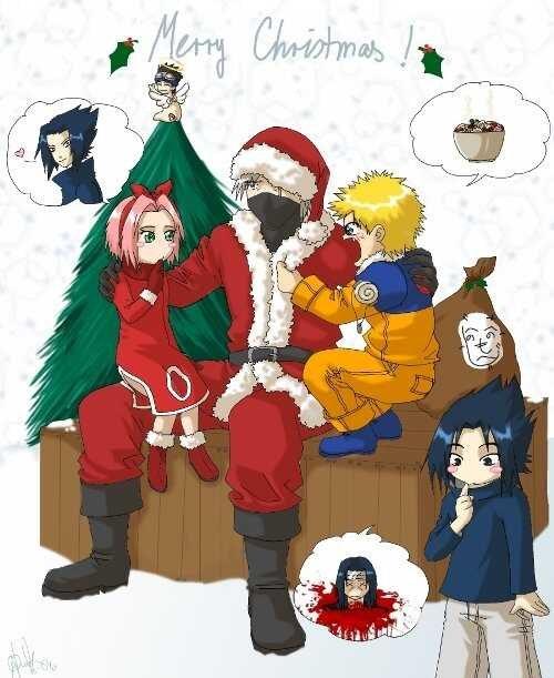 Natal naruto humor
