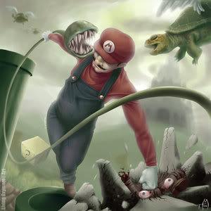 Super Mario Brother fanart
