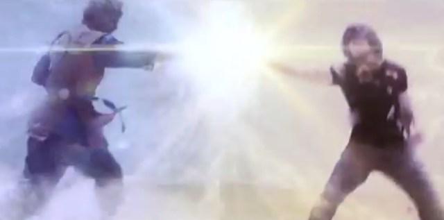 Gohan Vs 17 Dragon Ball Z light of hope