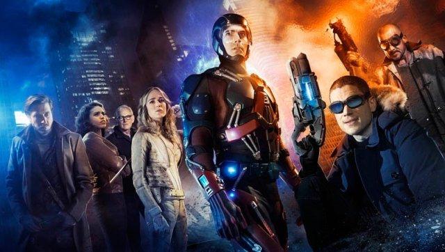 DCs Legends of tomorrow liga da justiça