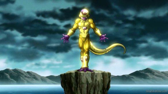 Freeza dourado Dragon Ball Z - O Renascimento de F