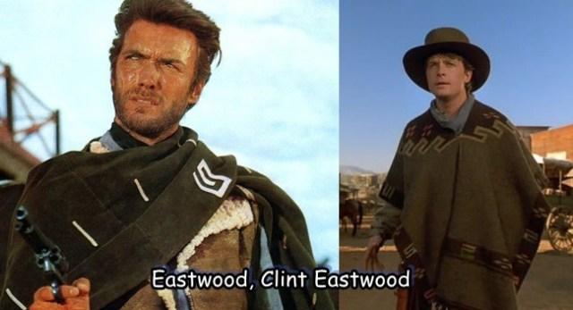 Marty McFly Clint Eastwood de volta para o futuro 3