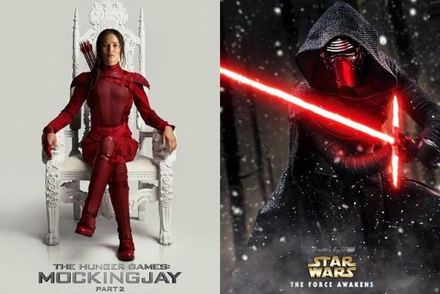 Star Wars vs Jogos Vorazes