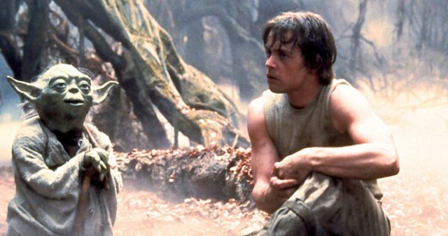 Yoda e Luke Star Wars