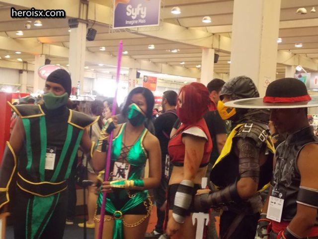 Reptile, Jade, Mileena, Scorpion e Kung Lao: Fatality!