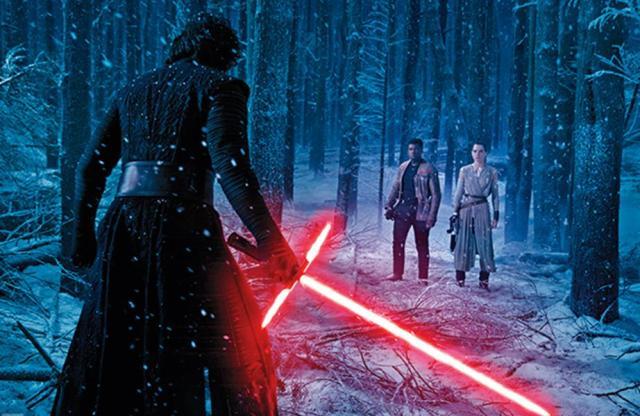 Star Wars O Despertar da Força Episódio 7 Rey Finn Kylo Ren
