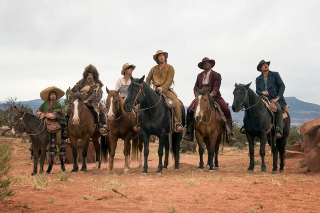 The Ridiculous Six elenco