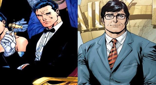 Bruce Wayne e Clark Kent DC Comics