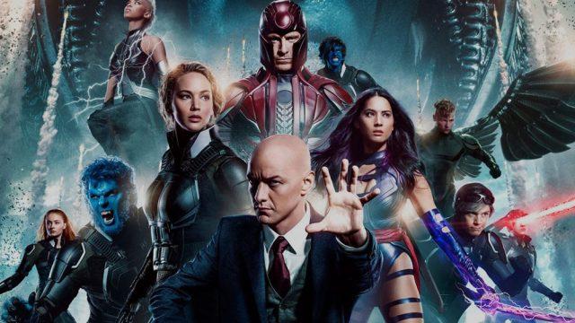 X-Men Apocalypse poster elenco
