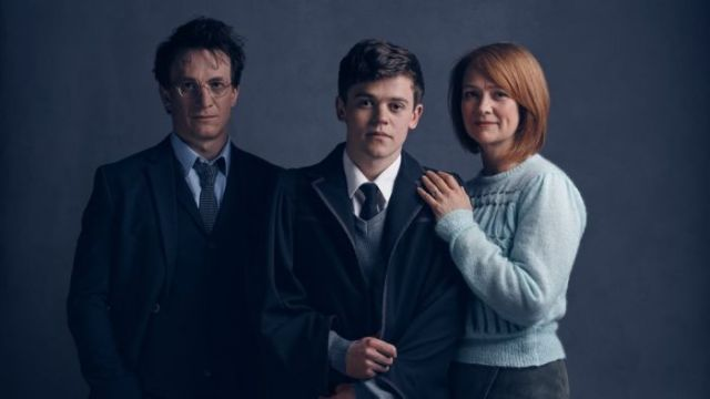Harry Potter and the cursed child Harry Albus Gina