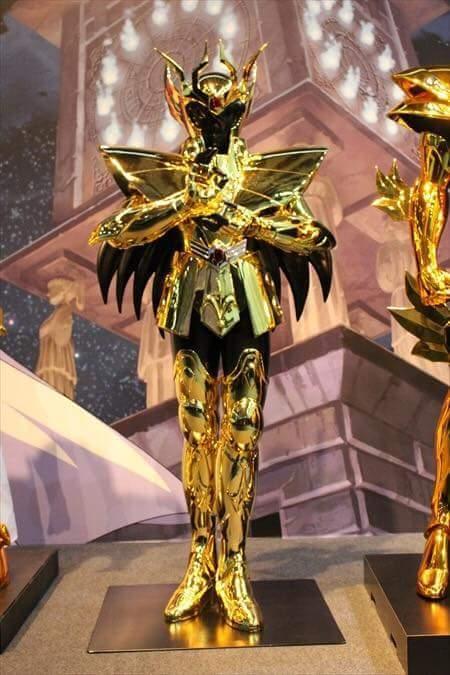 Virgem armaduras de ouro em tamanho real cavaleiros do zodíaco hd