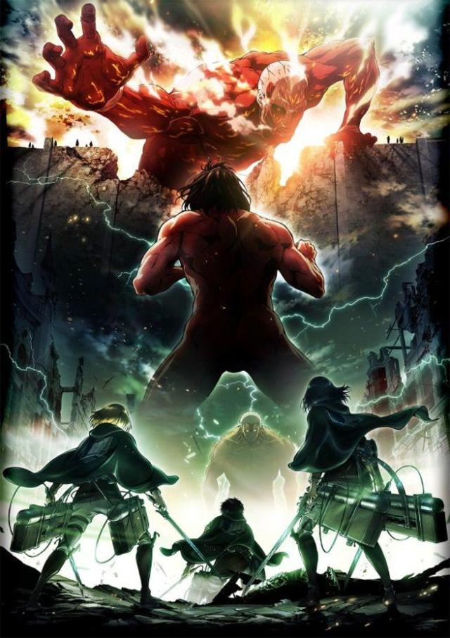 Attack on Titan Ataque dos Titãs poster segunda temporada