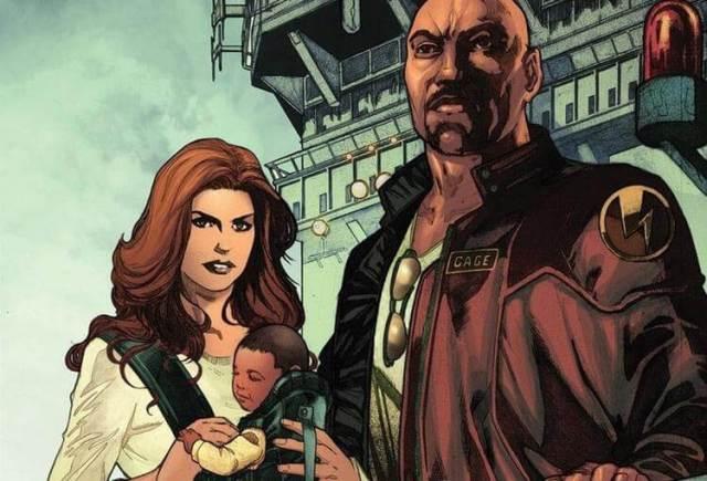 Luke Cage e Jessica Jones