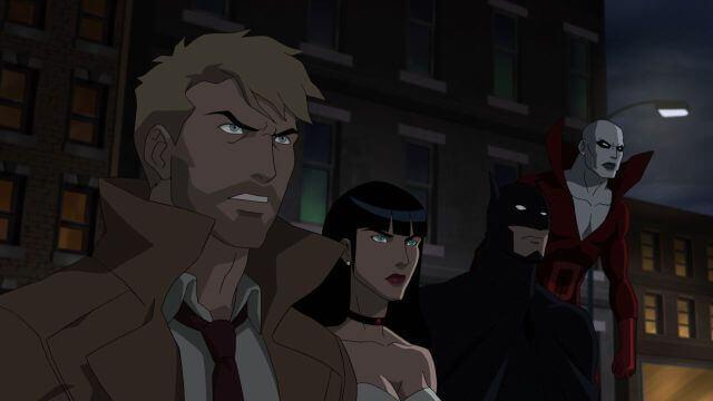 liga da justiça sombria Constantine Zatanna Batman Deadman