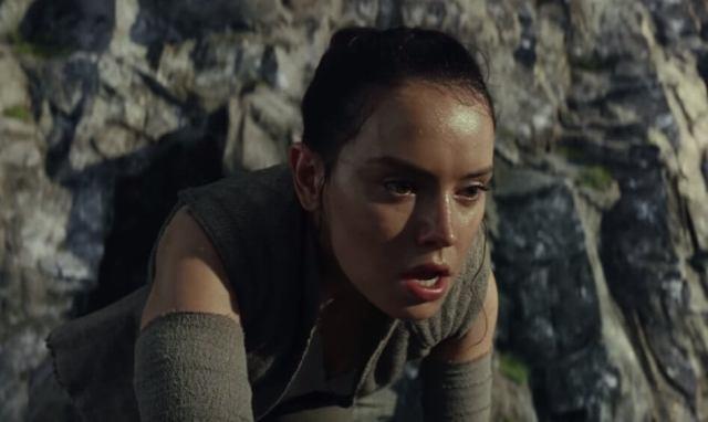 Rey Star Wars A ùltima Jedi lado cinza da força