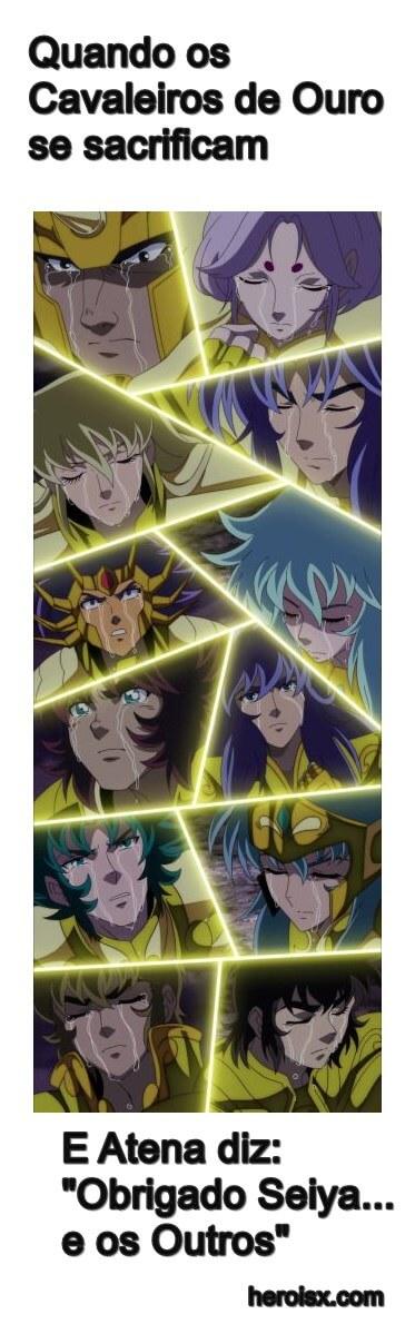 Cavaleiros de Ouro Seiya e os Outros
