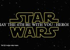 dia de star wars May the 4th be with you star wars logo