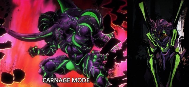Carnage kabuto One Punch Man Eva 01 Evangelion