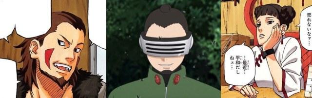 Kiba tenten Shino terminam sozinhos naruto