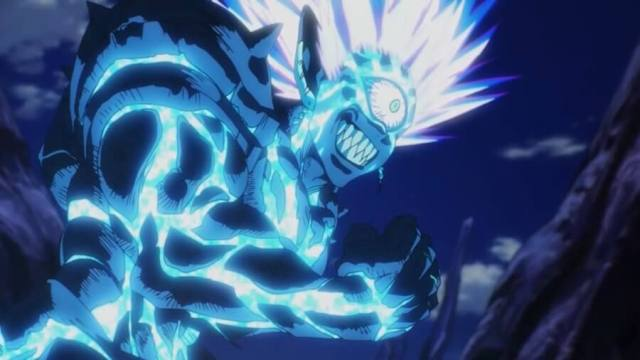 Lord Boros transformação One Punch Man