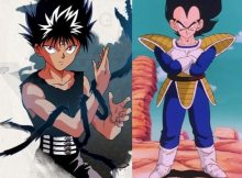 Hiei versus Vegeta exemplo crossover heroi x heroi