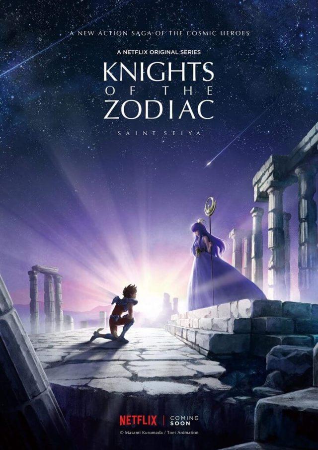 os cavaleiros do zodíaco netflix anime original