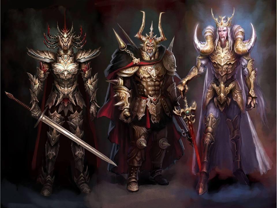 Cavaleiros do Zodíaco medievais: Melhores fanarts